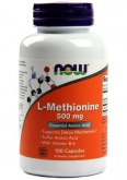 NOW L-Methionine 500 mg (100 капс.)