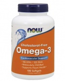 NOW Omega-3 Choles Free 1000 mg (180 капс.)