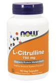 NOW L-Citrulline 750 mg (90 капс.)