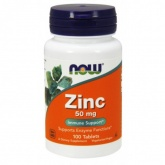 NOW Zinc Gluconate 50 mg (100 таб.)