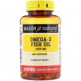 Mason Natural Fish Oil 1000 mg (60 капс.)