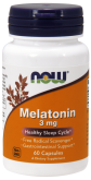 NOW Melatonin 3mg (60 капс.)