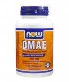 NOW DMAE 250 mg (100 капс.)