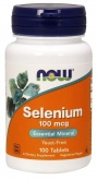 NOW Selenium 1000 mg (100 капс.)