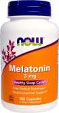 NOW Melatonin 3mg (180 капс.)