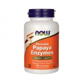 NOW Papaya Enzymes Chewable (180 таб.)