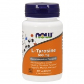 NOW L-Tyrosine 500 mg (60 капс.)