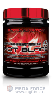Scitec Hot Blood 2.0 (300 г.)