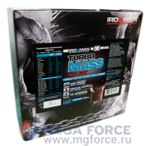 IRONMAN Turbo Mass No Fat (1400 г.)