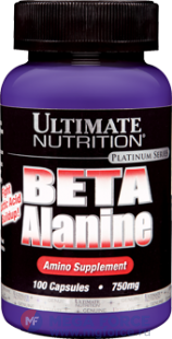 Ultimate Beta Alanine 750 mg (100 капс.)